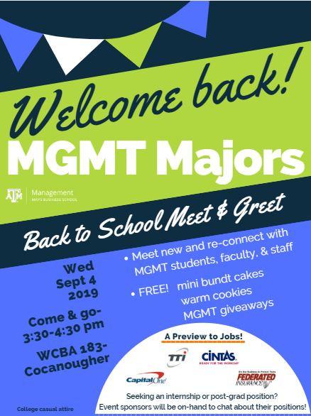Mays Business School / Texas A&M University Events Calendar