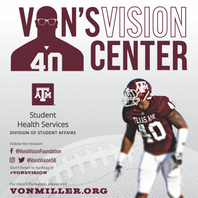 Von's Vision Center Flier