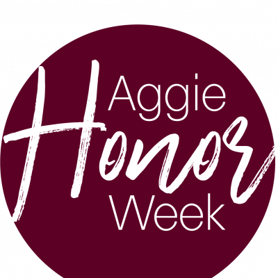 Aggie Honor Week logo
